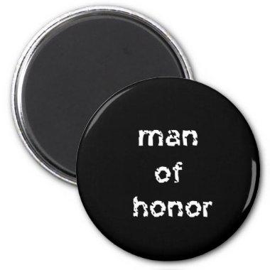 Man of Honor Magnet