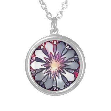 Mandala Necklace Charm