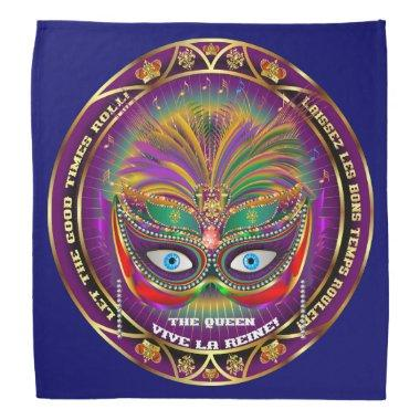 Mardi Gras Queen 4 Read About Design Below Bandana