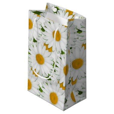 Marguerite Daisy Wrapping Paper Gift Bag