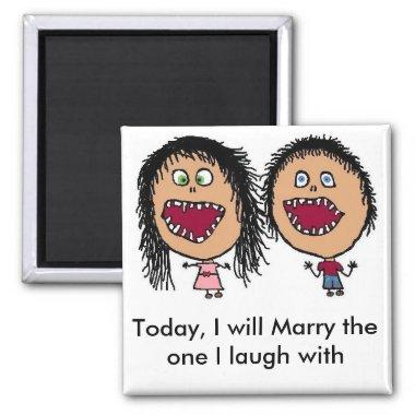 Marrying My Best Friend Magnet