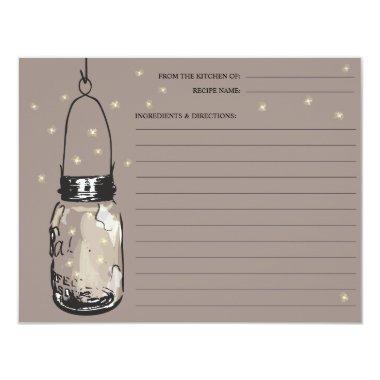 Mason Jar & Fireflies Recipe