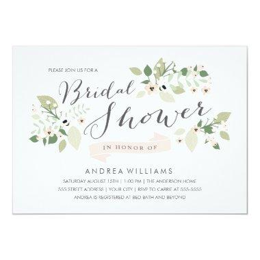Meadow Blooms  Invite