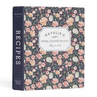 Midsummer Floral |  Recipe Mini Binder