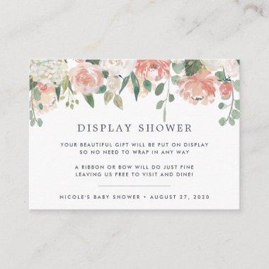 Midsummer Floral Display Shower