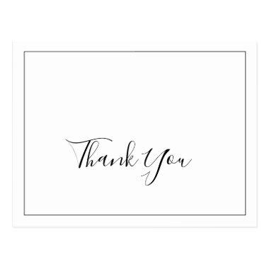 Minimalist Thank You PostInvitations