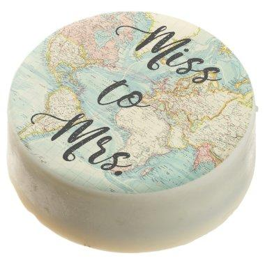 Miss to Mrs Travel Bridal Shower Oreo Cookies