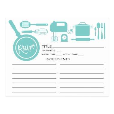 Modern Blue Kitchen Utensils Recipe