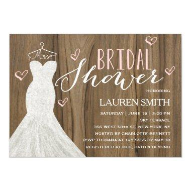 Modern Bride | Bridal Shower Invitations