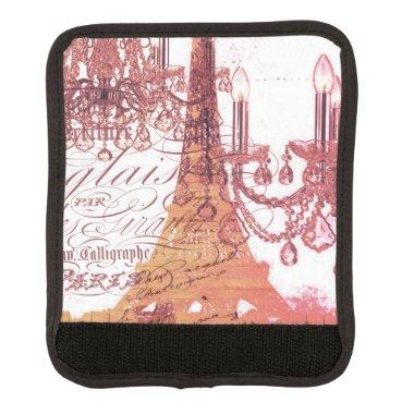 modern girly vintage chandelier paris eiffel tower handle wrap