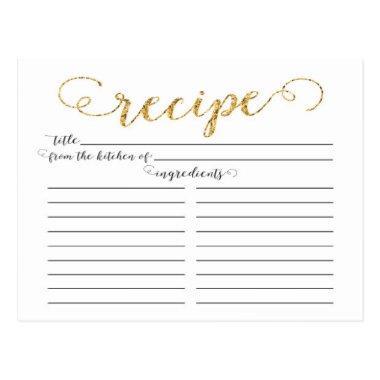 Modern Gold Script  Recipe