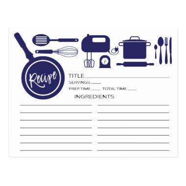 Modern Navy Blue Kitchen Utensils Recipe