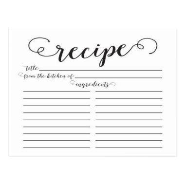 Modern Script  Recipe