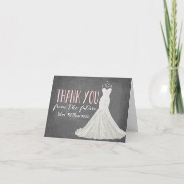 Modern Wedding Dress |  Thank You