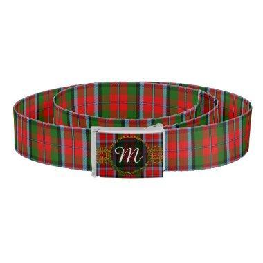 Monogram MacNaughton Tartan Belt