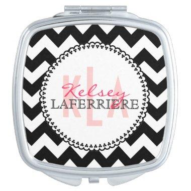 Monogram Makeup Mirror