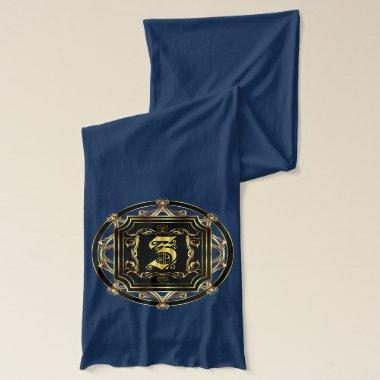 Monogram Z Classic By DAE Best On Dark Color Scarf
