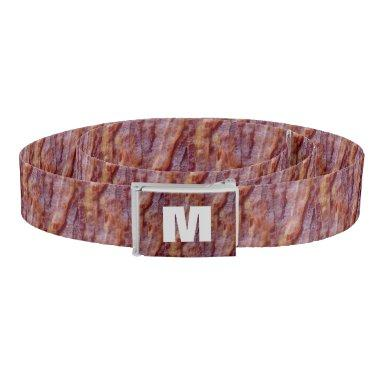 Monogrammed Bacon Belt