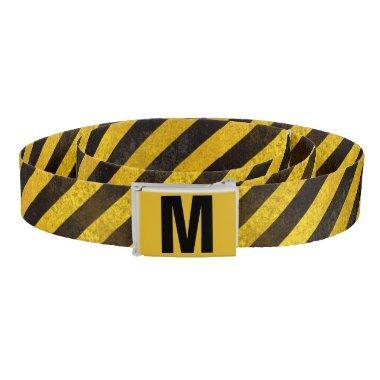 Monogrammed Caution Belt