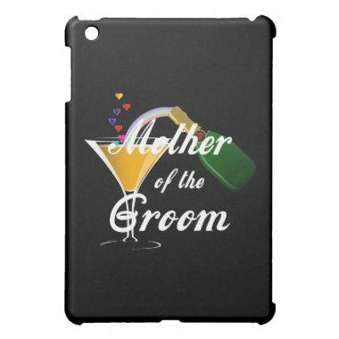 Mother of the Groom Champagne Toast iPad Mini Case