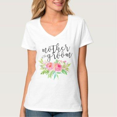mother of the groom floral T-Shirt