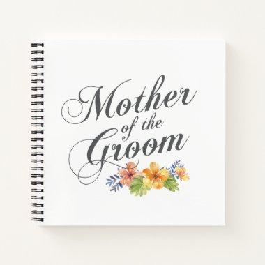 Mother of the Groom Wedding | Guestbook Notebook