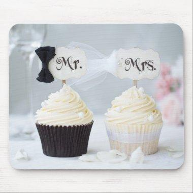 Mr. and Mrs. Wedding Mouse Pad