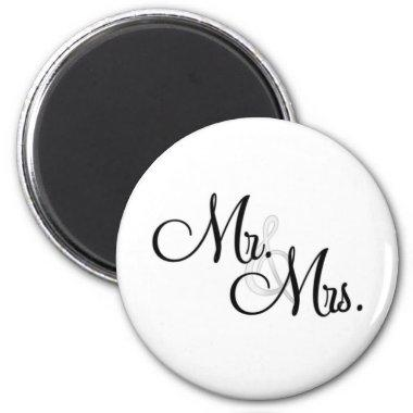 Mr. & Mrs. Unique Items Magnet