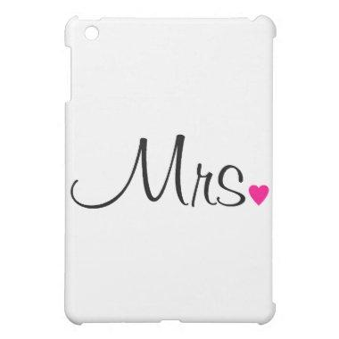 Mrs iPad Mini Cover