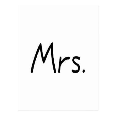 Mrs. Post