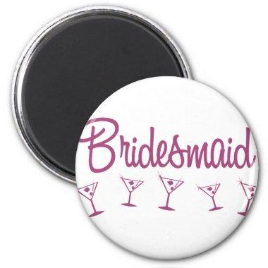 MultiMartini-Bridesmaid-Pink Magnet