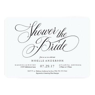 Musical Bridal Shower Invitations