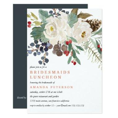 Mystical Winter | Bridesmaids Luncheon Wedding V2 Invitations