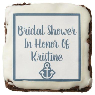 Nautical Bridal Shower In Honor Of Brownies