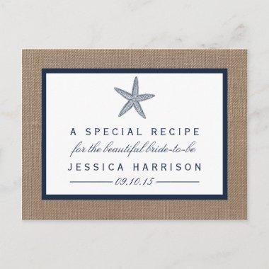 Navy Blue Starfish Beach  Recipe