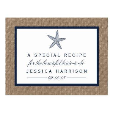 Navy Blue Starfish Beach  Recipe