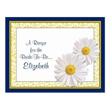 Navy Shasta Daisy Recipe  for the Bride to Be