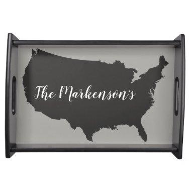 New Home / Newly weds present presonalized Serving Tray