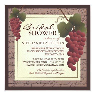 Old World Grapevine Wine