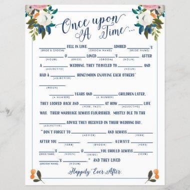 Once Upon A Time Love Story Bridal Libs Game