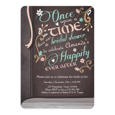 Once Upon a Time Storybook  Pink