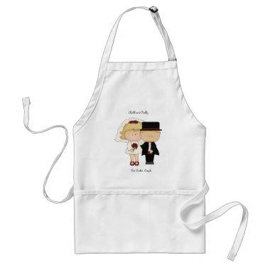 One Cookin Couple Apron