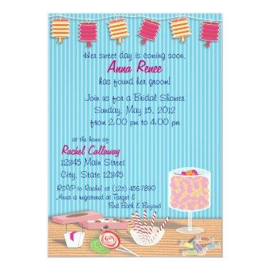 One Sweet Day Bridal Shower Invitations