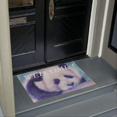 PANDA'S WELCOME DOORMAT