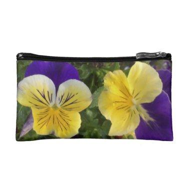 Pansy cosmetics bag