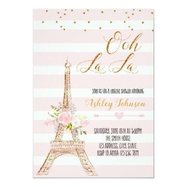 Paris bridal shower invitation Invitations