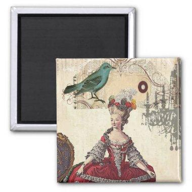 Paris Chandelier french queen Marie Antoinette Magnet