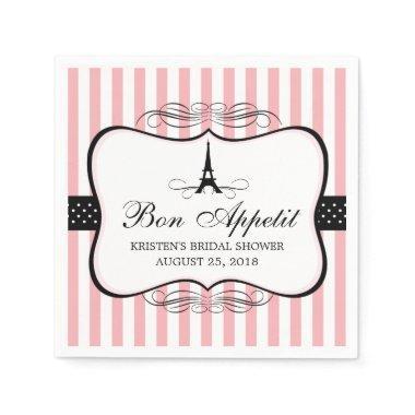Paris Eiffel Tower |  Paper Napkin