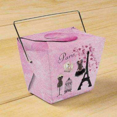 Paris Fashion Eiffel Tower Favor Box