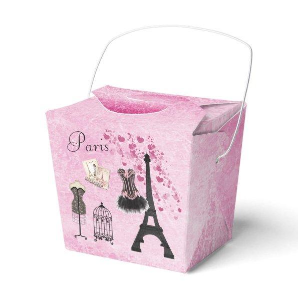 Paris Fashion Eiffel Tower Favor Box